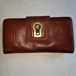 Juicy couture camel tone wallet - leather